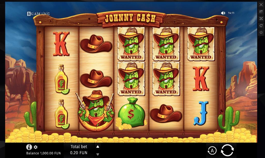 johnny cash slot