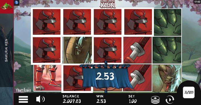 samurai ken slot: sticky win