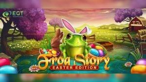 egt interactive frog story пасхальное издание