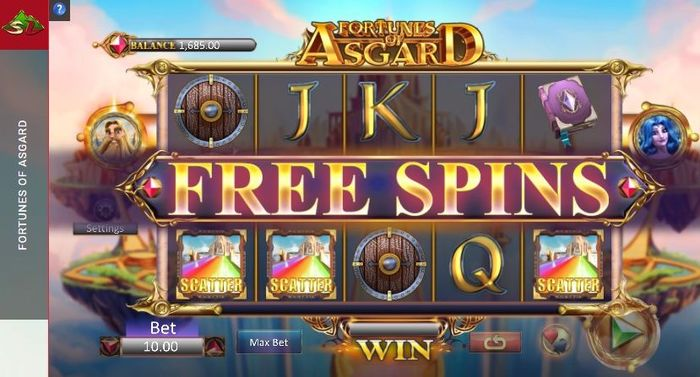 fortunes of asgard slot: scatters